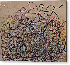 Tangled Acrylic Print by Jacob Stempky