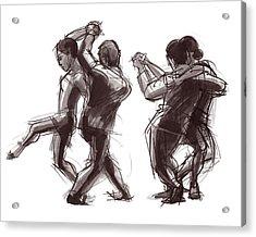 Tango #58 And #59 Acrylic Print