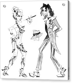 Tango Argentino - Milonga Buenos Aires Acrylic Print by Arte Venezia
