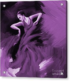 Tango Dancer 01 Acrylic Print by Gull G