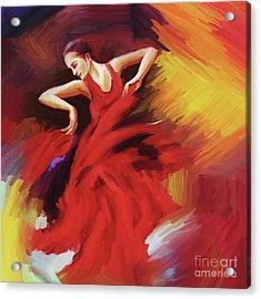 Tango Dancer 02 Acrylic Print