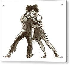 Tango Triangle Acrylic Print