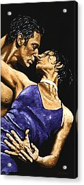 Tango Heat Acrylic Print by Richard Young
