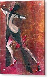 Tango Acrylic Print by Maya Manolova