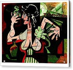 Tango Picasso Acrylic Print