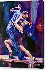 Tango Romantico Acrylic Print by David Lloyd Glover