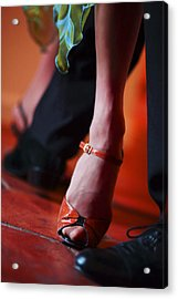 Tango Toes Acrylic Print