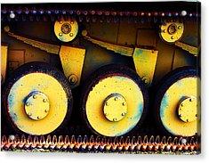Tank Detail Acrylic Print