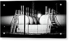 Acrylic Print featuring the photograph Tank Shadows by Bill Kesler
