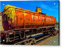 Tanker For Fire Use Only Acrylic Print