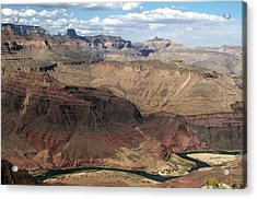 Tanner Rapids And The Colorado River Grand Canyon National Park Acrylic Print