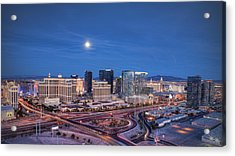 Acrylic Print featuring the photograph Tansient - Night by Ryan Smith