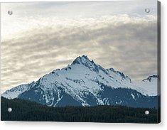 Tantalus Mountain Range Closeup Acrylic Print