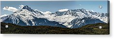 Acrylic Print featuring the photograph Tantalus Mountain Range On The Sea To Sky by Pierre Leclerc Photography