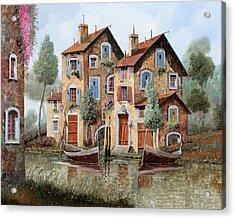 Tante Finestre Acrylic Print