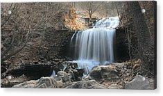 Tanyard Creek Arkansas Acrylic Print by Lourry Legarde