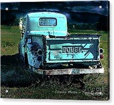 Taos Dodge Acrylic Print