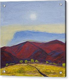 Taos Dream Acrylic Print by John Hansen