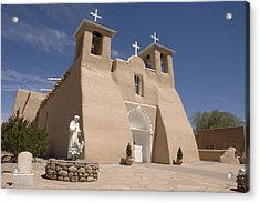Taos Landmark Acrylic Print by Jerry McElroy