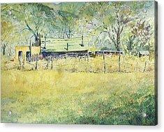 Taos Ranch Acrylic Print