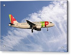 Tap Portugal Airbus A319-111 Acrylic Print