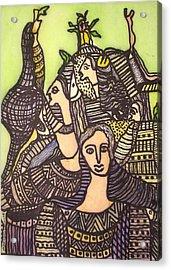 Tapestry Of Life Acrylic Print by Nabakishore Chanda