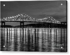 Tappan Zee Bridge Twilight IIi Acrylic Print
