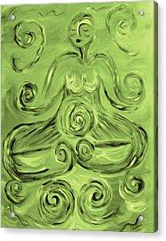 Tara Lotus Acrylic Print