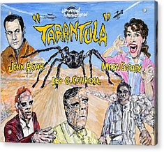 Tarantula - 1955 Lobby Card That Never Was Acrylic Print