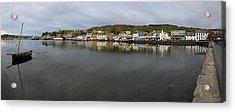 Tarbert Harbour - Panorama Acrylic Print