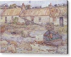 Tarbert   Loch Fyne Acrylic Print by Alexander Kellock Brown