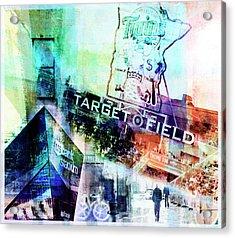 Target Field Us Bank Staduim  Acrylic Print