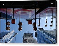 Target Lights Acrylic Print by Rob Hans