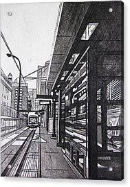Target Station Acrylic Print by Jude Labuszewski
