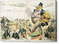 Tariff Lobbyist, 1897 Acrylic Print by Granger