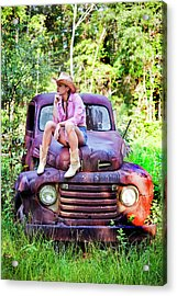 Tarin Day Dreaming Acrylic Print by Frank Feliciano