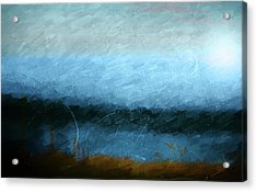 Acrylic Print featuring the photograph Tarn by Linde Townsend