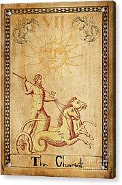 Tarot Card The Chariot Acrylic Print
