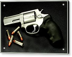 Tarus .38 Special Acrylic Print by Ron Roberts