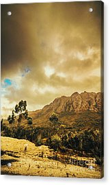 Tasmania Mountain Marvels Acrylic Print