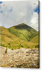 Tasmanian Mountains Acrylic Print