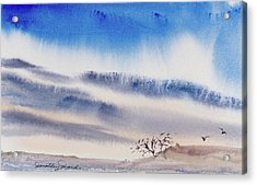 Tasmanian Skies Never Cease To Amaze And Delight. Acrylic Print