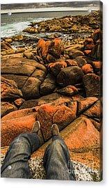 Tasmanian Tourist Kicking Back  Acrylic Print