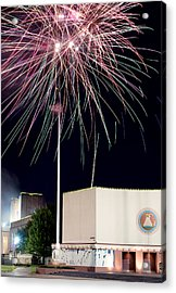 Taste Of Dallas 2015 Fireworks Acrylic Print