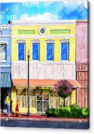 Taste Of Home - Josie's Restaurant Acrylic Print by Mark Tisdale