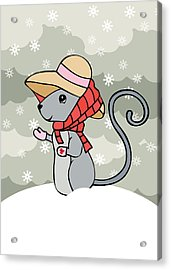 Tatty Winter Acrylic Print