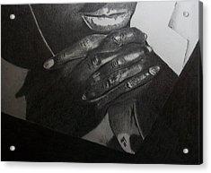 Tatum Acrylic Print by Nick Young