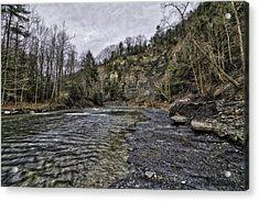 Taughannock Creek Acrylic Print