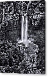 Taughannock Falls - Bw Acrylic Print