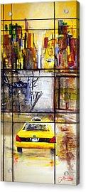 Taxi 7 Acrylic Print